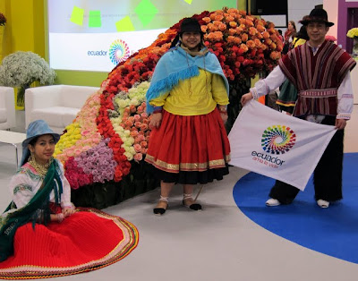 Ecuador pavilion at the ITB Berlin Travel Trade Show in Germany
