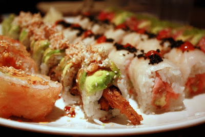 Sushi at Zushi Puzzle in San Francisco California