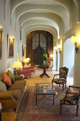 Xara Palace hotel lobby in Mdina Malta