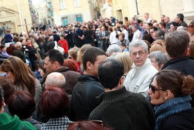 Malta Good Friday procession in Rabat
