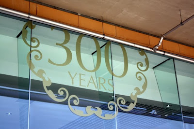 Ascot Racecourse 300 Year Anniversary sign in England