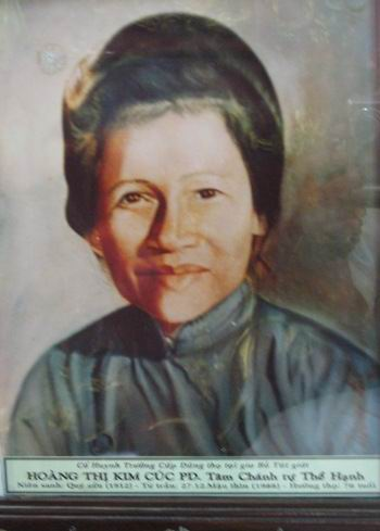 Cuộc đời chị Tâm Chánh Hoàng Thị Kim Cúc