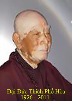 Điếu Văn tưởng niệm thầy Thích Phổ Hòa