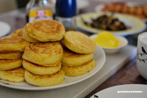 crumpets breakfast