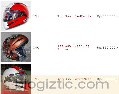 daftar harga helm ink inako murah update lengkap terbaru daftar harga