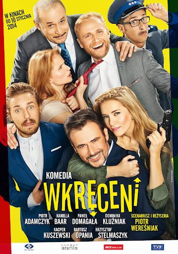Polski plakat filmu 'Wkręceni'
