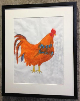 """Chicken"" Art by: Noor Khatun"