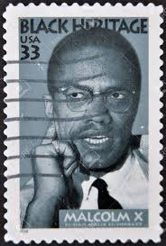 USA - CIRCA 1999 : Stamp Printed In USA Shows Malcolm X African ...