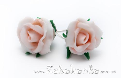 Сережки - Троянди