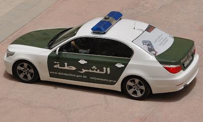 Coffee, Pearls, and A View: Dubai Police Cars