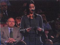 Teresa Richard nun momento da súa intervención