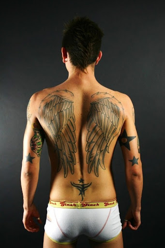 Angel Tattoos For Real Men
