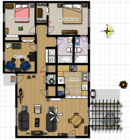 The great indoors house tour for My floorplanner