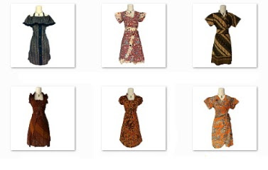 Grosir Lusinan Dress Batik