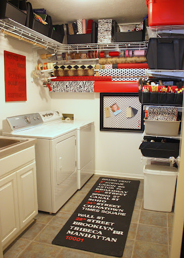 laundry/craft room