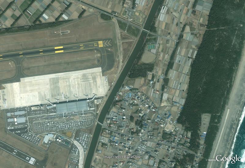 Sendai Airport (antes del tsunami de Japón)