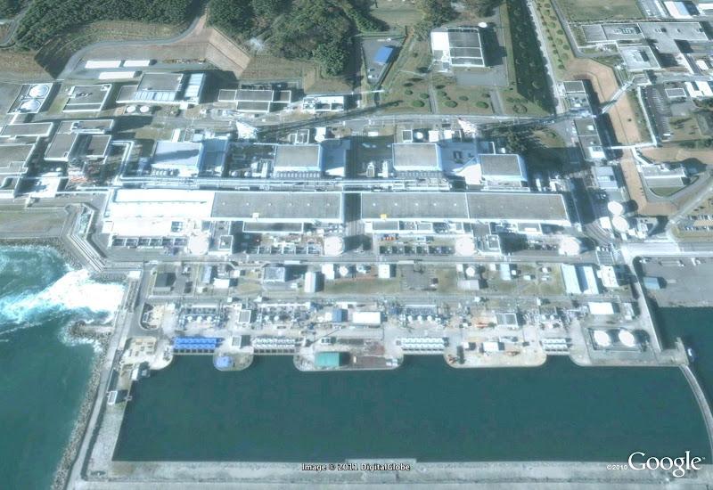 Fukushima nuclear plant (antes del tsunami de Japón)