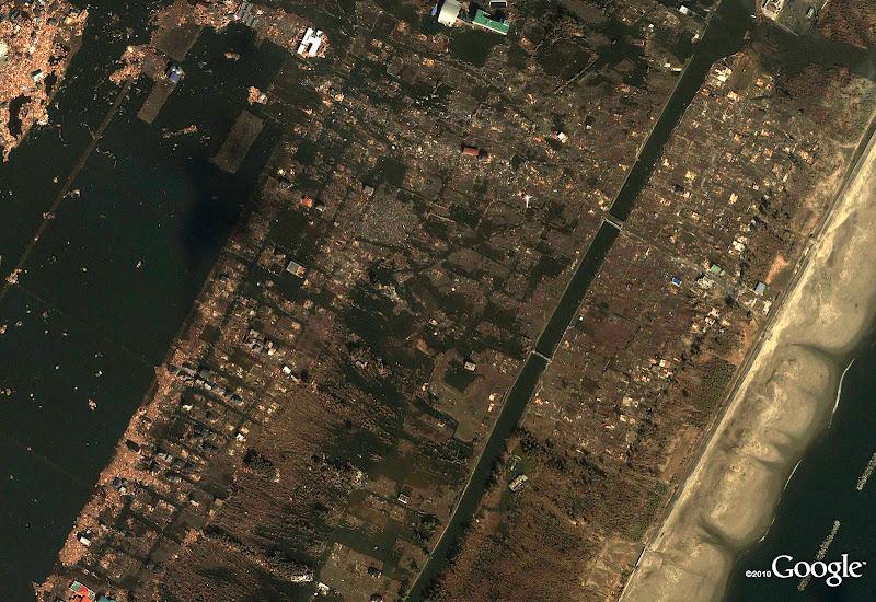 Arahama in Sendai (después del terremoto de Japón)