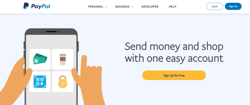 PayPal is a payment gateway for small businesses.