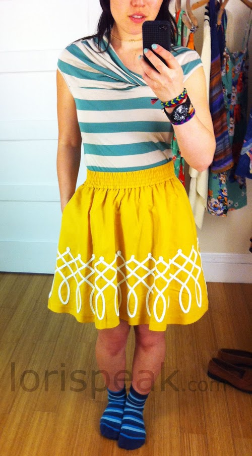 goldfish bowl skirt. Goldfish Bowl Skirt ($98) by