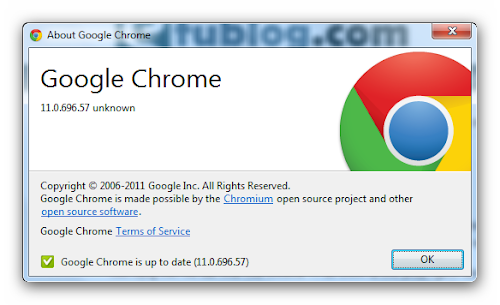 Chrome 11.0.696.57