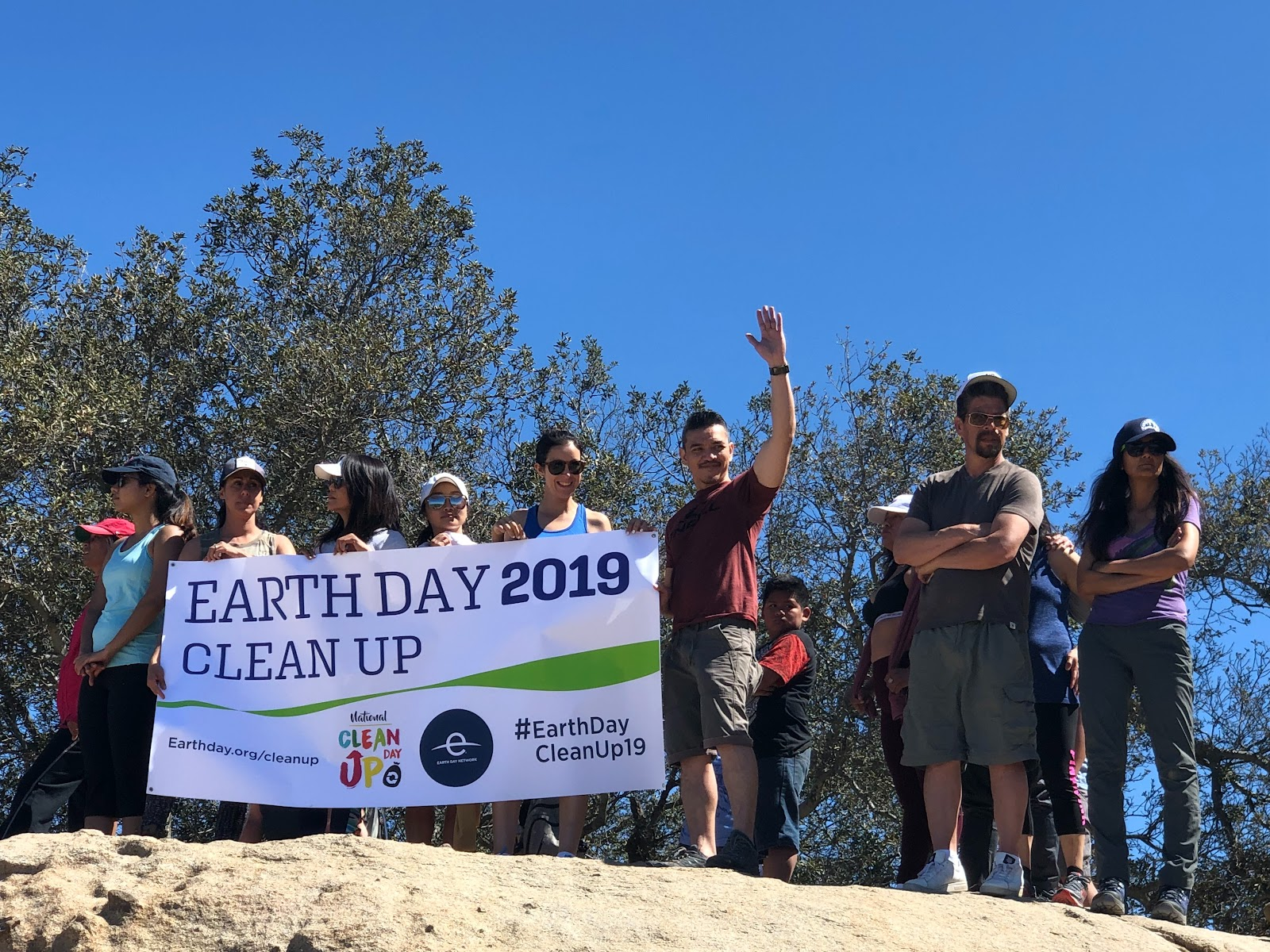 Earth Day is a great time to get out and volunteer!