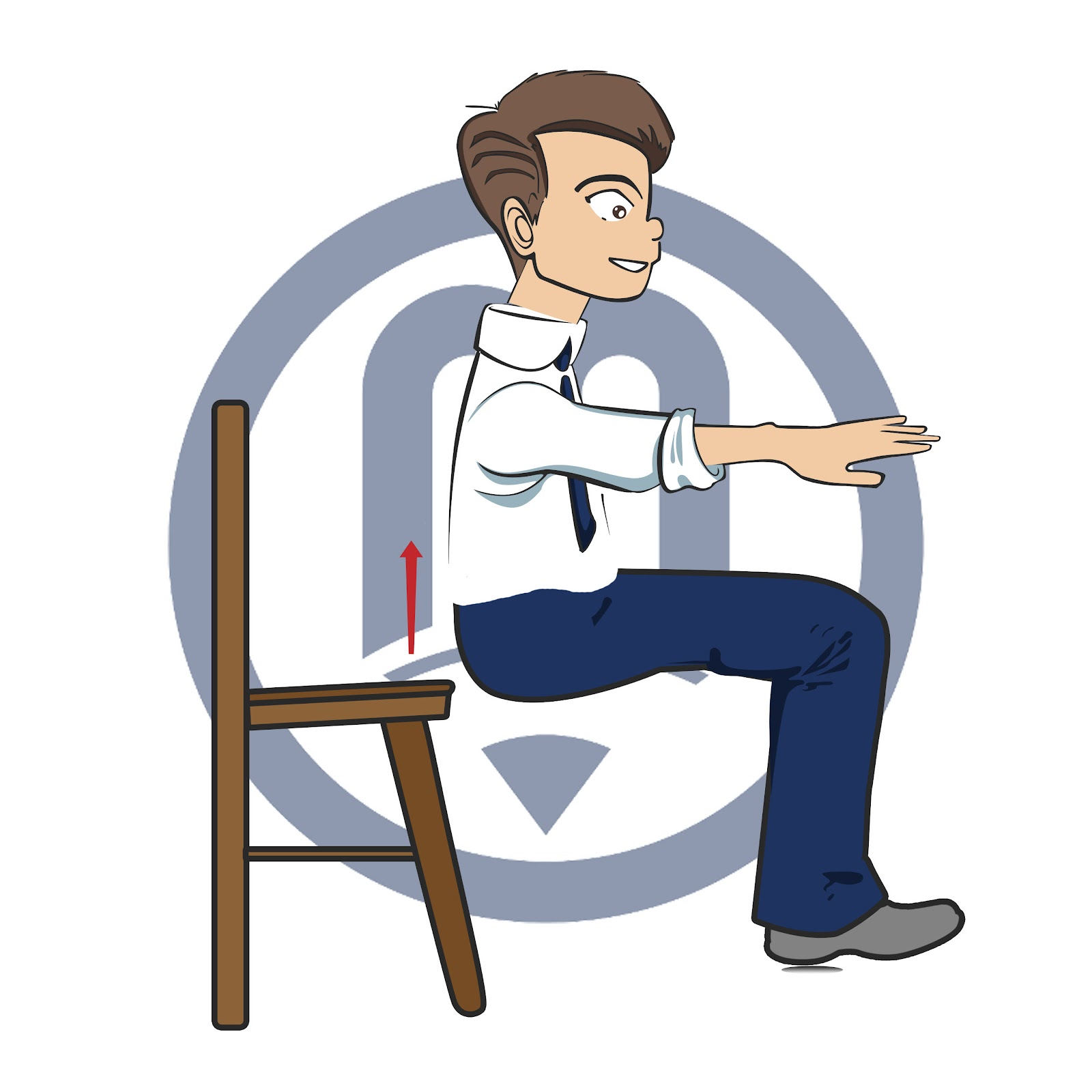 Whole Body Exercise | Chair Squats