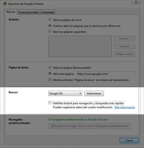 Chrome-Instant