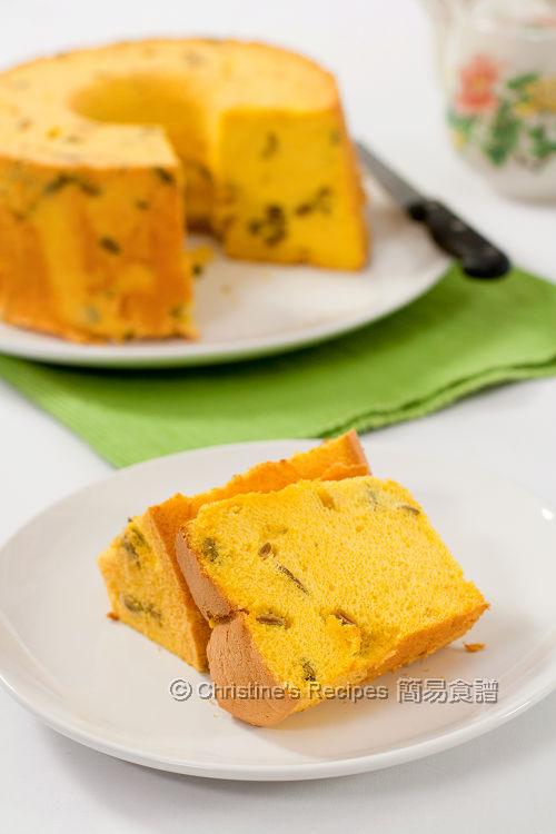 南瓜戚風蛋糕 Pumpkin Chiffon Cake01