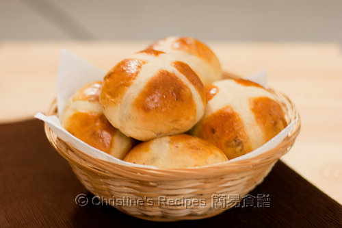 Hot Cross Raisin Buns03