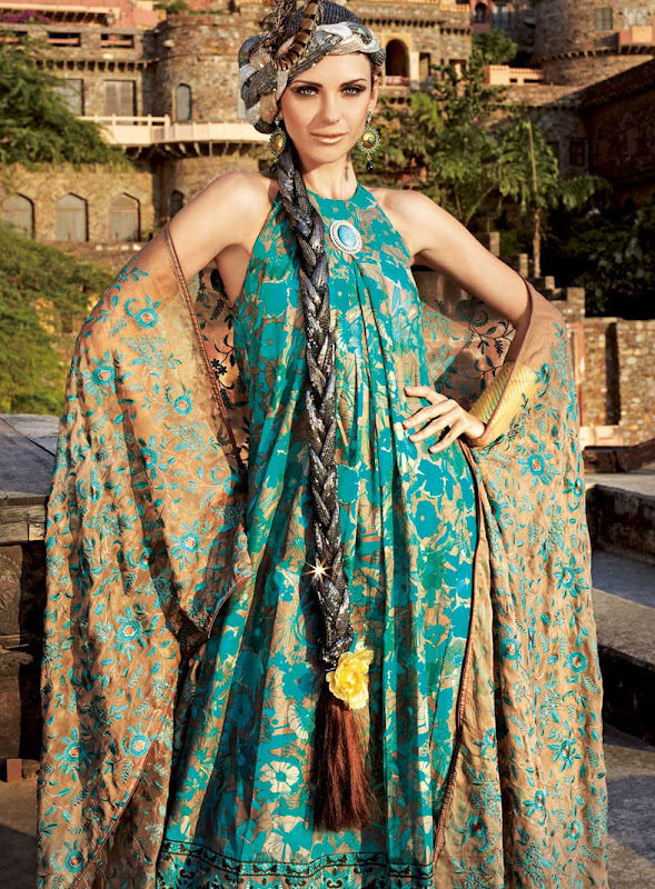 Embroidered Chiffon by Gul Ahmed Summer 2011