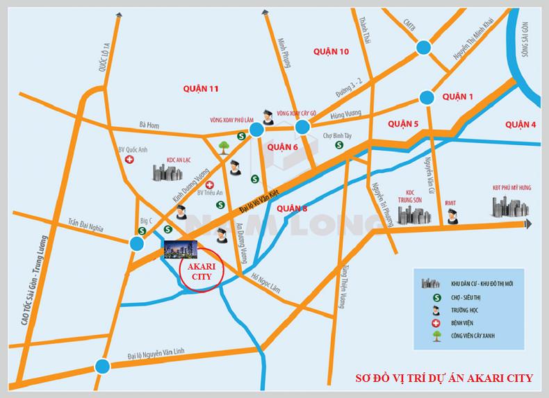 Mua căn hộ Akari City khu Bình Tân tại sao không?