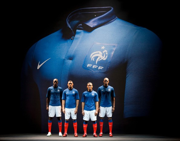 Nike + the French National Football Team