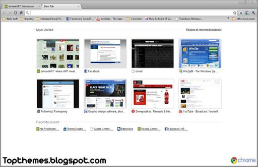 Mac Leopard Theme For Google Chrome