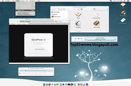 GUiPod 2 Mac OS X Theme