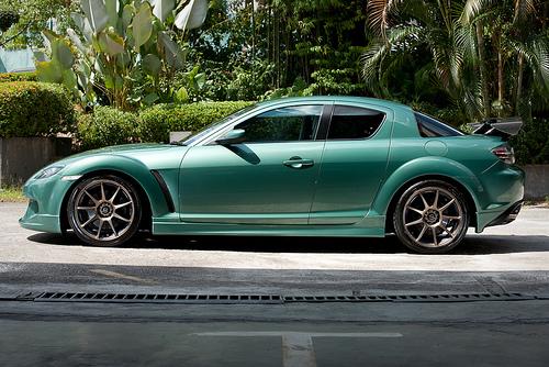 Kumpulan Koleksi Gambar Modifikasi Mobil Racing Car Mazda RX8 Terbaru Lengkap Update 2011 Keren Cool Bagus Mahal Boddykit Front Rear Bumper Sideskirt Contest JDM Elegant