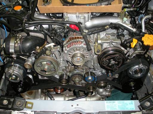 2005 LGT Timing belt service parts list - Subaru Legacy Forums