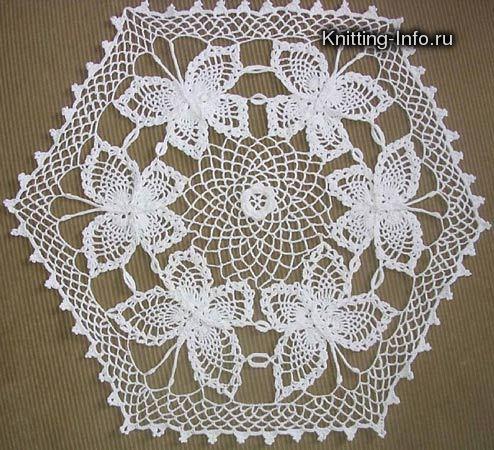 Blog de andreiatur : croche com a natureza, toalha de croche borboleta