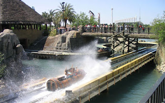 Atracción de Agua en Isla Mágica