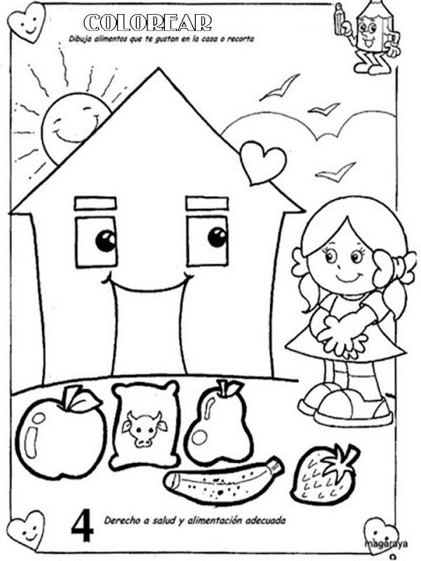 Free Not Healthy Habits Coloring Pages