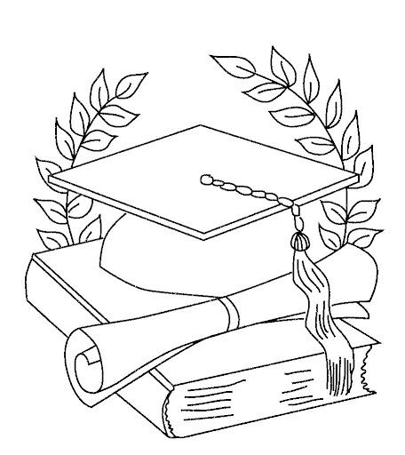 Imagenes de graduados niños para colorear - Imagui