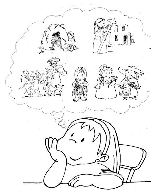 Una Nina Leyendo Para Colorear Ilustración De Libro Niña Leyendo Un