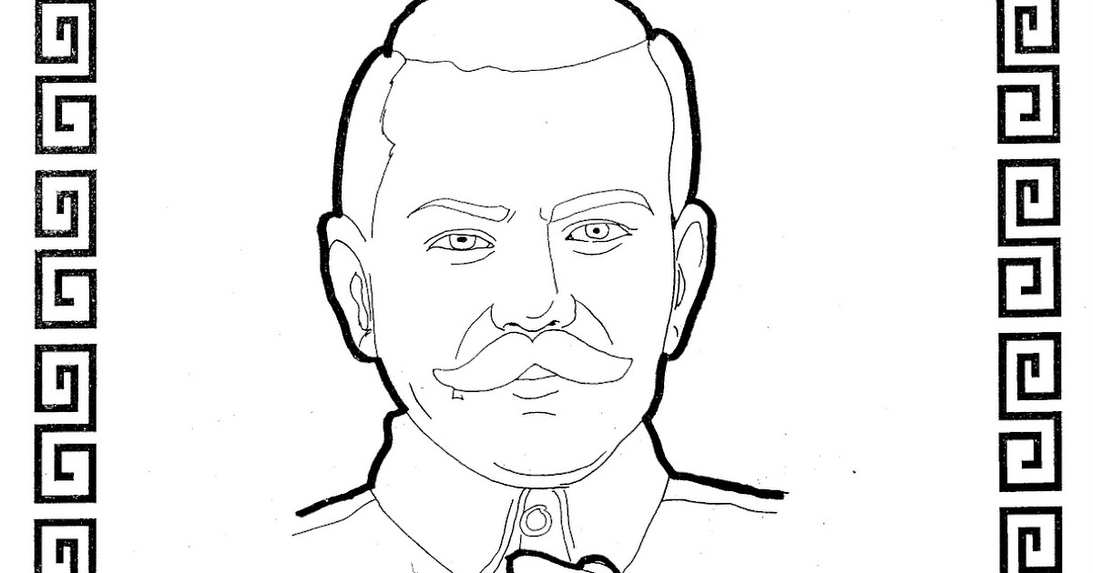 Pancho Villa Free Coloring Pages Coloring Pages