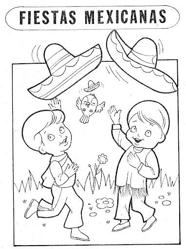 dibujos para colorear 15 septiembre