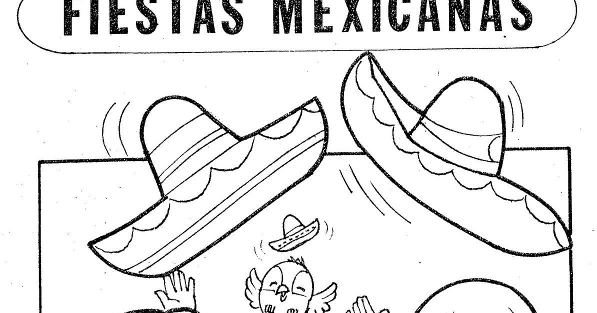 Dibujos Para Colorear Para Niños De Fiestas Patrias ...