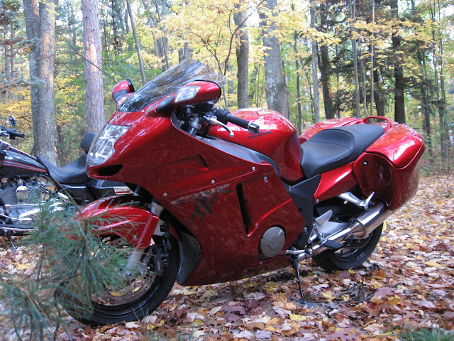 Sport-Touring Net - SOLD! 2001 Honda CBR1100XX set up for