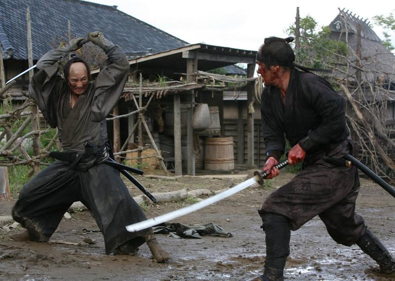 Masachika Ichimura and Koji Yakusho in 13 ASSASSINS