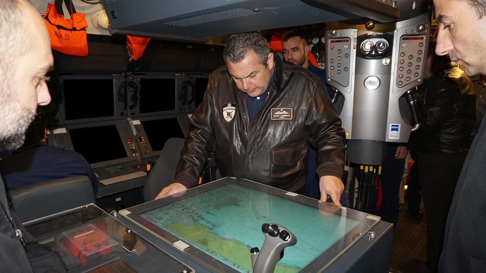 Αποτέλεσμα εικόνας για ο πανος καμμένος στο ναυτικο