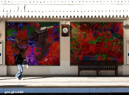 Victor Angelo metro station editions fine arts modern contemporary