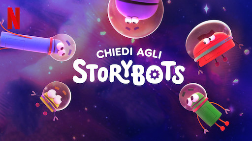 Image result for CHIEDI AGLI STORYBOTS